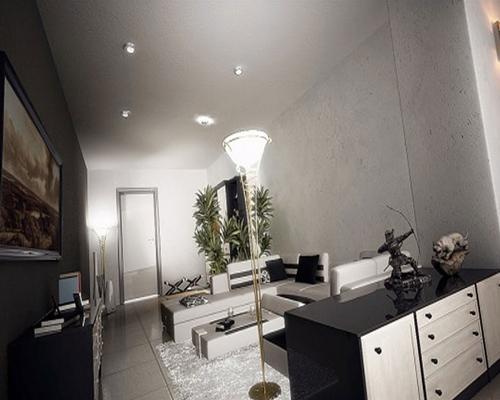 mau thiet ke phong khach dep hien dai 2013   Xu hướng thiết thế nội thất phòng khách đẹp cho năm 2013