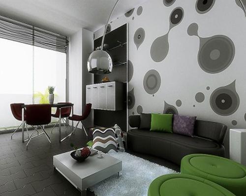 phong khach am cung 2013   Xu hướng thiết thế nội thất phòng khách đẹp cho năm 2013